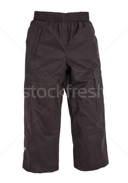 Chaud pants isolé blanche mode enfant Photo stock © cookelma