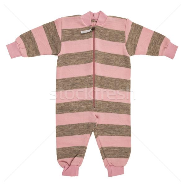 Baby wol kleding geïsoleerd witte kind Stockfoto © cookelma