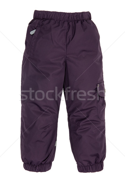 Warm pants Stock photo © cookelma