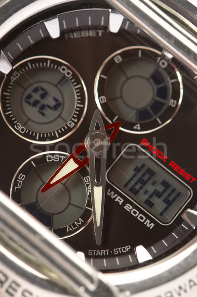 electronic hours with a stop watch  Stock photo © cookelma