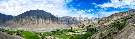 Dhankar Gompa. India. Spiti Valley Stock photo © cookelma