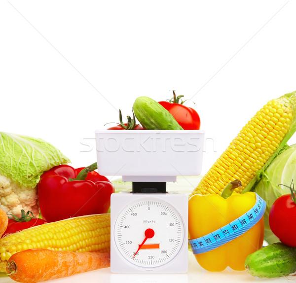 野菜 健康食品 写真 白 春 食品 ストックフォト © cookelma