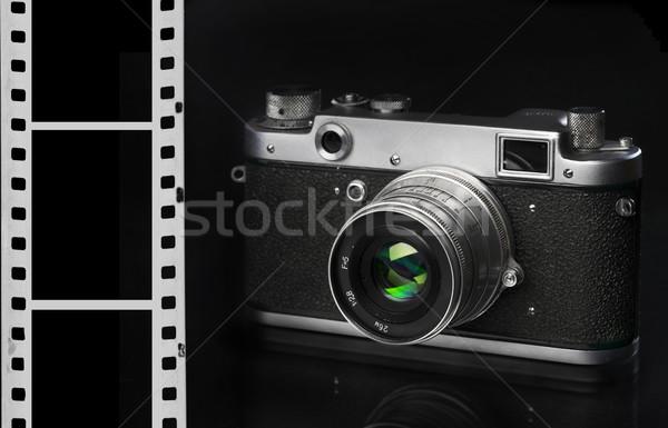 Old camera Stock photo © cookelma