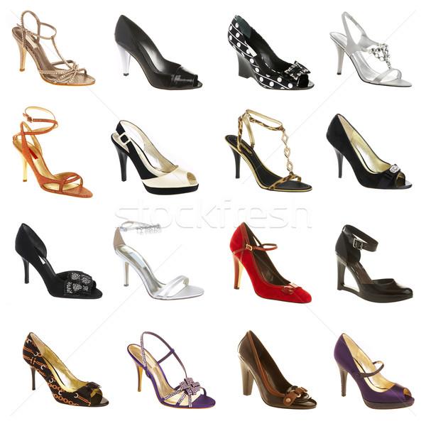 female footwea Stock photo © cookelma