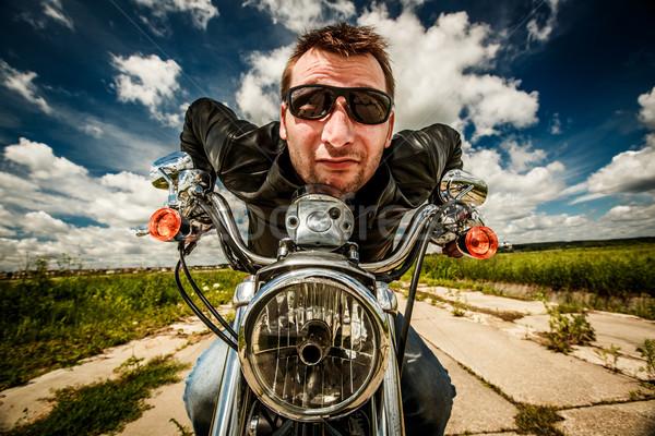 смешные Racing дороги Солнцезащитные очки Сток-фото © cookelma