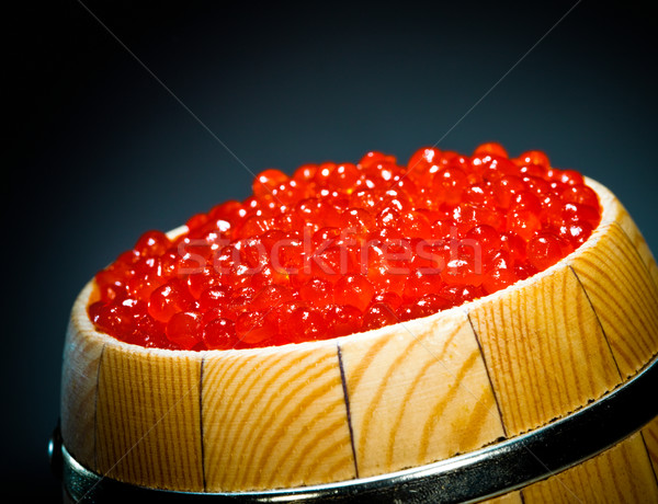 Rouge caviar sombre orange saumon fruits de mer Photo stock © cookelma