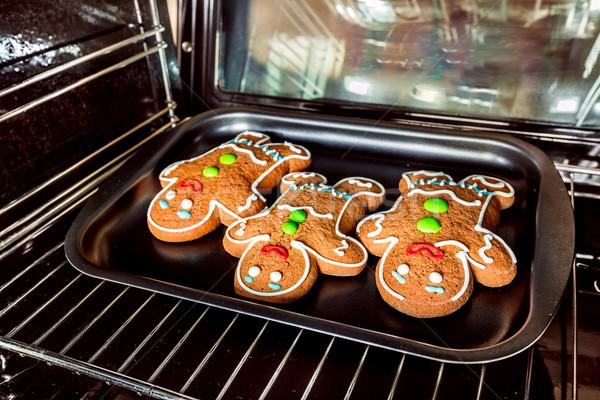 Gingerbread man Stock photo © cookelma