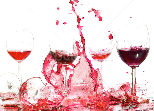 glasswine. Broken. Stock photo © cookelma