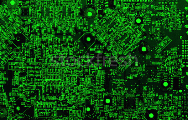 integrated circuit Stock photo © cookelma