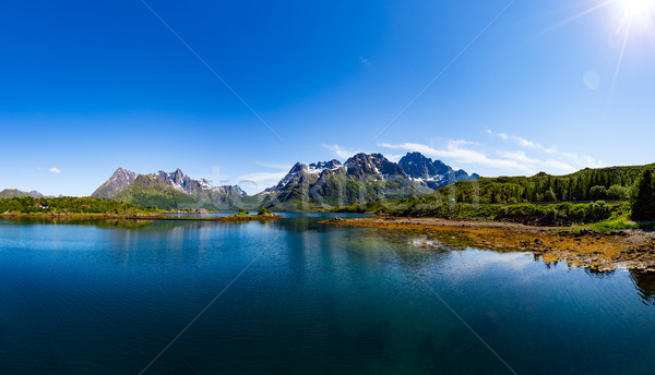 Lofoten archipelago Stock photo © cookelma