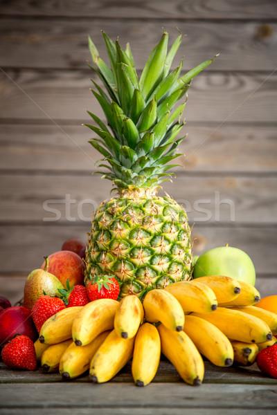 Exotic fruits Stock photo © cookelma