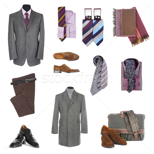 Men's clothes and accessories Stock photo © cookelma