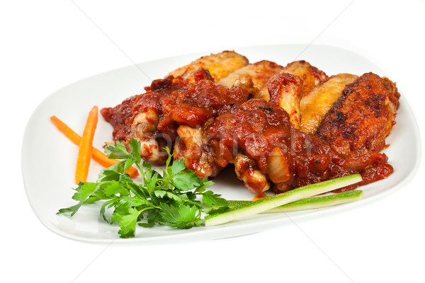 chicken wings Stock photo © cookelma