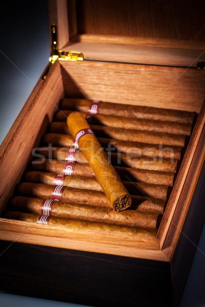 Puro açmak iş kutu hediye Stok fotoğraf © cookelma