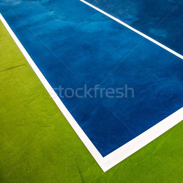 Pista de tenis primer plano salud fondo verano espacio Foto stock © cookelma
