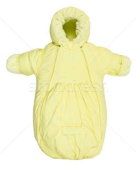 Sıcak ceket yalıtılmış kış beyaz arka plan Stok fotoğraf © cookelma