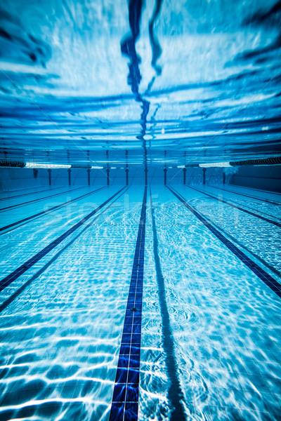 Piscina água textura esportes fitness fundo Foto stock © cookelma