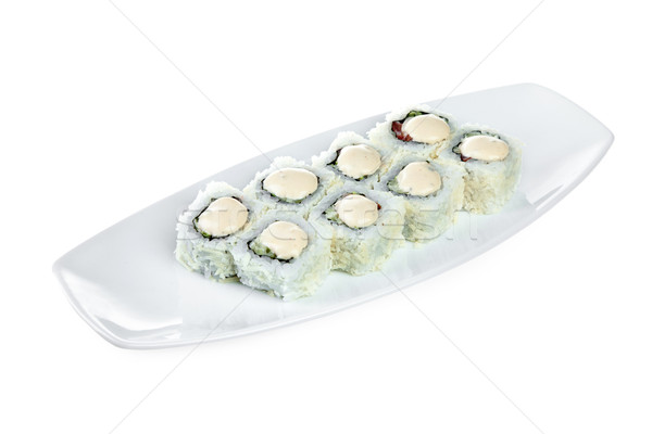 Sushi (Roll Caesar) Stock photo © cookelma