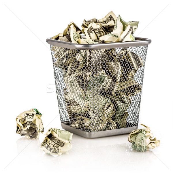 Money in a basket Stock photo © cookelma