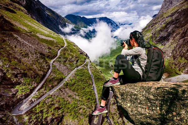 Сток-фото: природы · фотограф · туристических · камеры · Постоянный · Top