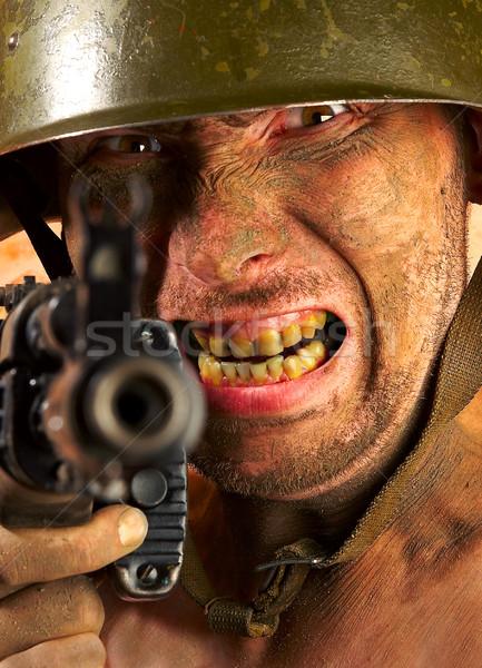 soldier Stock photo © cookelma