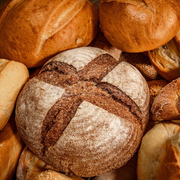 Bens pão milho mercado Foto stock © cookelma