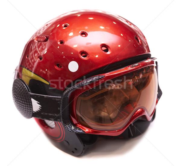 ヘルメット 生産的な レジャー スポーツ 雪 冬 ストックフォト © cookelma