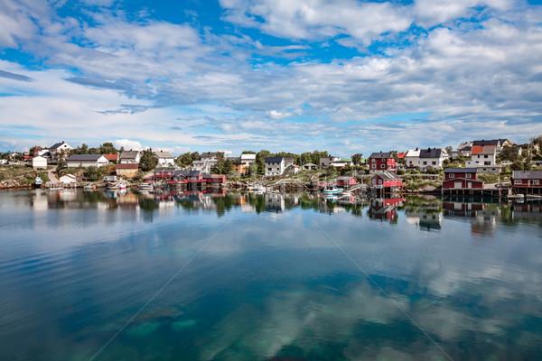 Lofoten archipelago islands Stock photo © cookelma