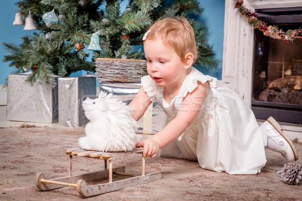 Little girl Stock photo © cookelma