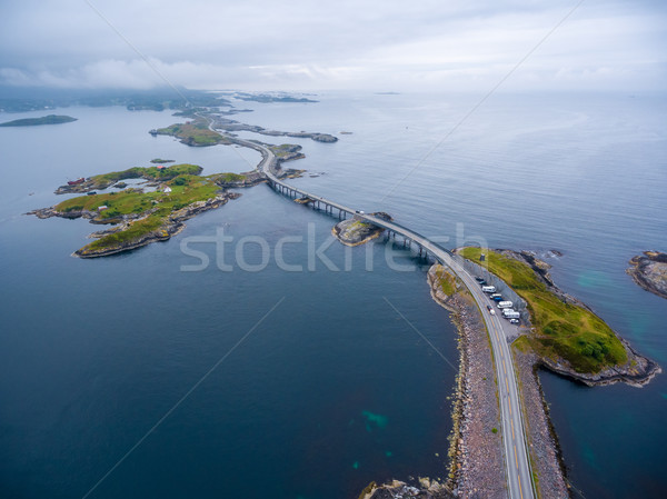 Atlantic Ocean Road Stock photo © cookelma