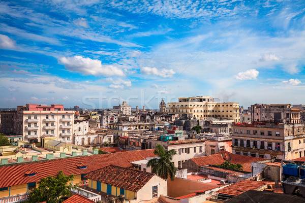 Foto stock: Edad · La · Habana · tiro · ciudad · Cuba · paisaje