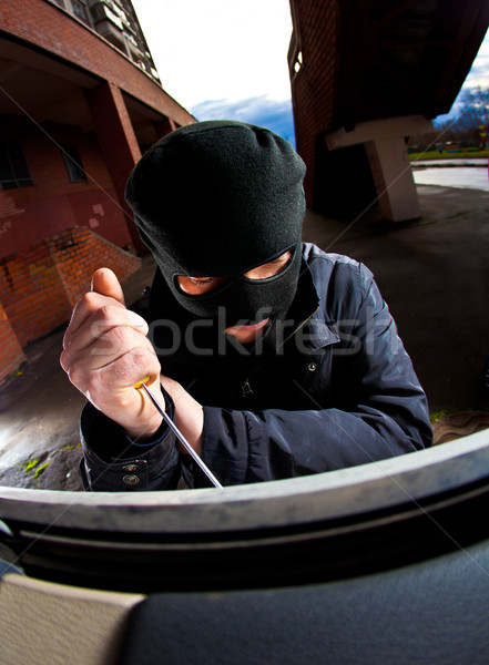 robber in a mask Stock photo © cookelma