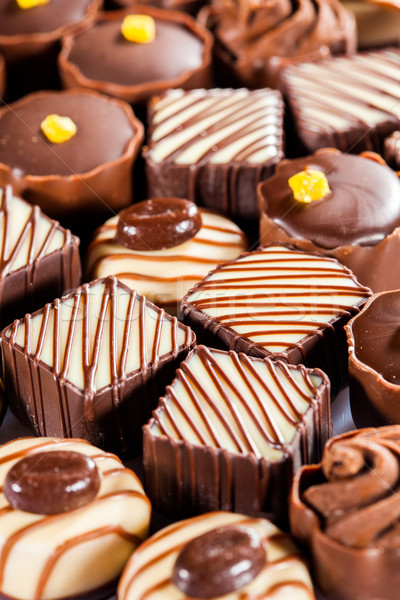 Chocolate sweets Stock photo © cookelma