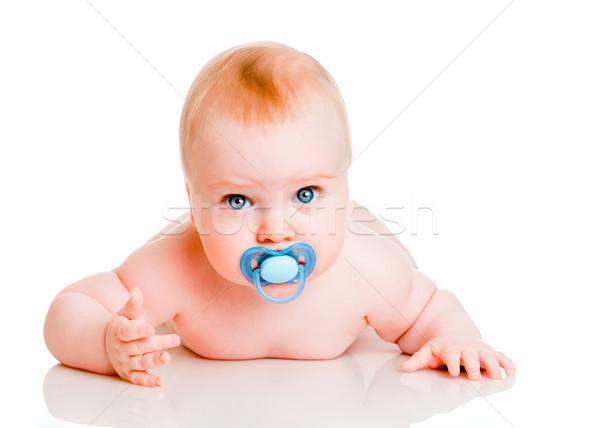 Stok fotoğraf: Bebek · beyaz · çocuk · hayat · çocuk · kişi