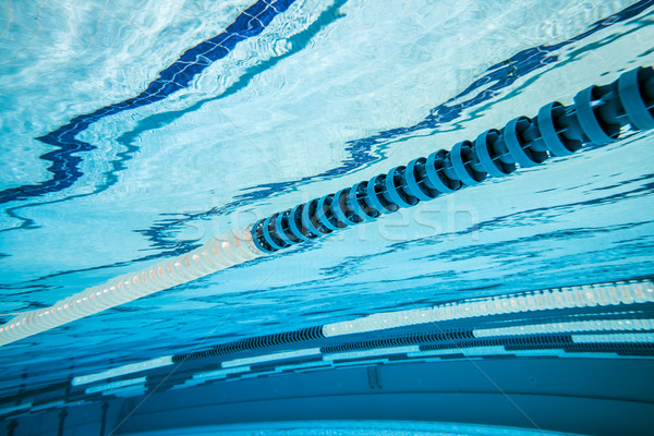 Stock photo: Swimming pool background