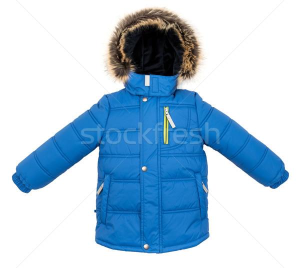 куртка изолированный зима белый фон Сток-фото © cookelma