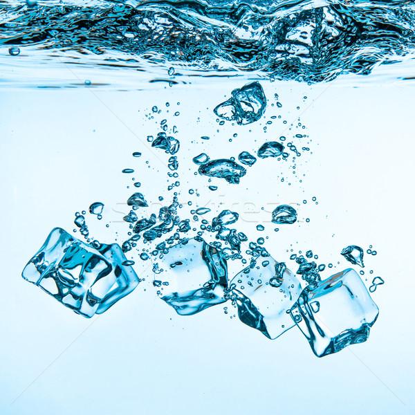 Vallen water zinken bodem abstract Stockfoto © cookelma