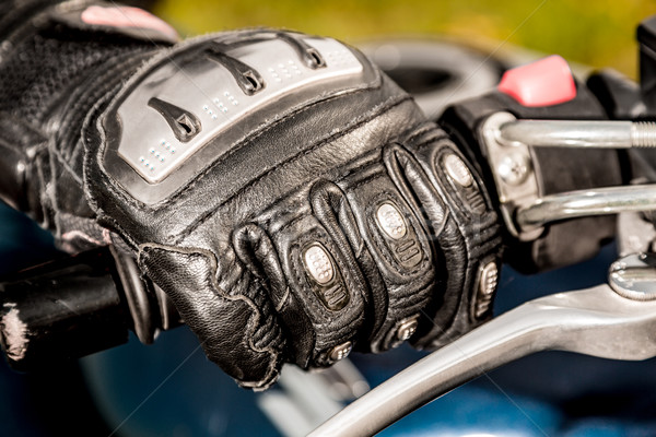 Motorcycle Racing Gloves Stock photo © cookelma