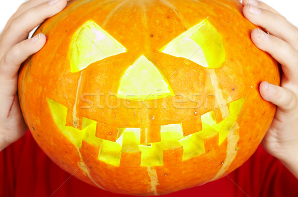 scary old jack-o-lantern Stock photo © cookelma