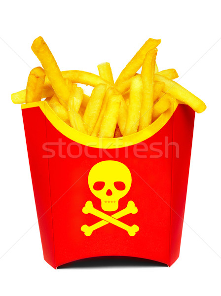 French fries Stock photo © cookelma