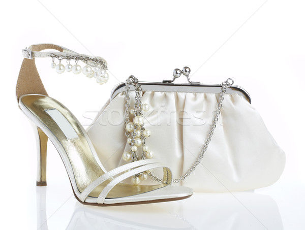 Stockfoto: Handtas · business · schoonheid · zomer · schoenen