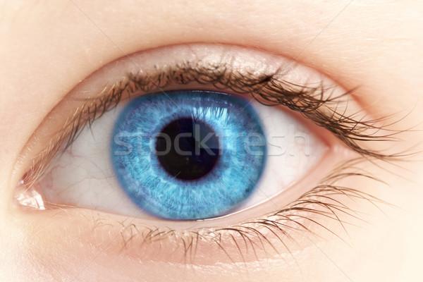 ストックフォト: 眼 · 人 · 薬 · 皮膚 · クリーン