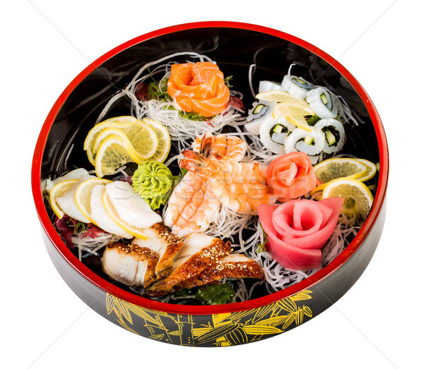 sea food combination Stock photo © cookelma