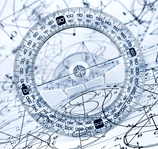 Protractor Stock photo © cookelma
