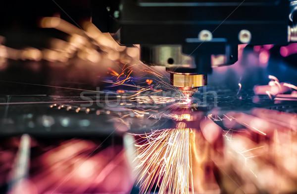 Сток-фото: лазерного · металл · современных · промышленных · технологий