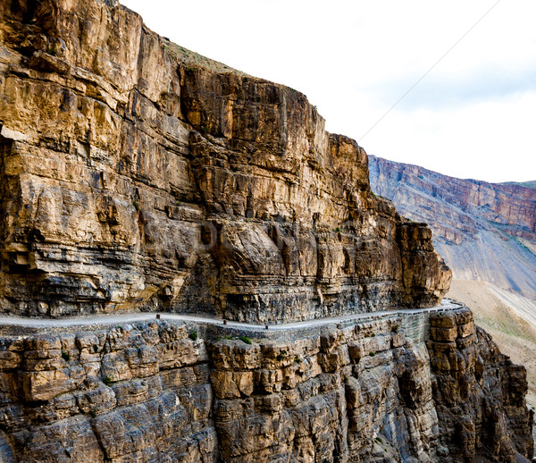 serpentine road Stock photo © cookelma