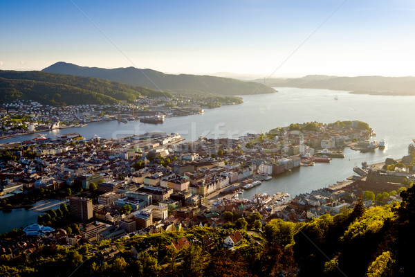 Görmek Norveç vardiya objektif su ev Stok fotoğraf © cookelma