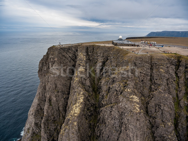 North Cape (Nordkapp) aerial photography, Stock photo © cookelma