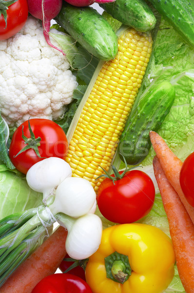 Stock photo: vegetables. Healthy food