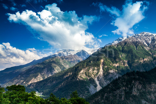 India.Mountains and clouds. Stock photo © cookelma